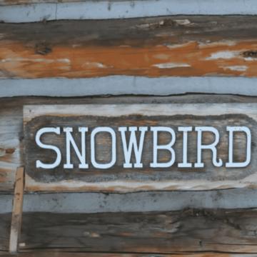 Snowbird Sign